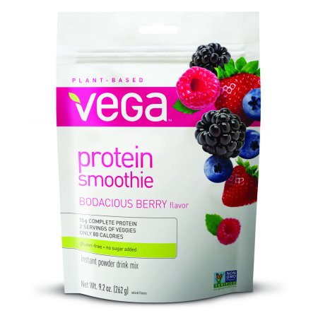 Vega Vegan Smoothie Powder, Bodacious Berry, 9.2 (Best Smoothies For Pregnancy)