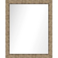PTM Images Soul Shine Framed Wall Mirror, Medium Champagne
