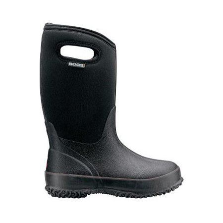 Bogs Kid's Classic Black with Handles