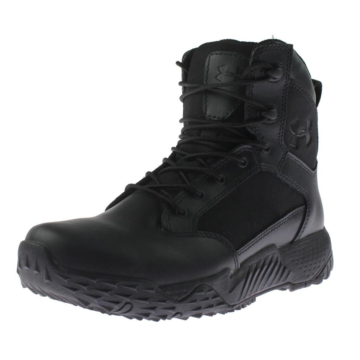 nacido Descripción Óptima  Under Armour - Womens Stellar Leather Water Repellent Tactical Boots -  Walmart.com - Walmart.com