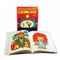 Pocket-Sized Magic Coloring Book