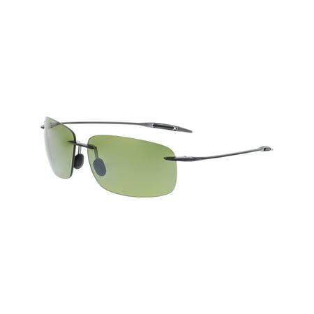 c86a98d4068 Maui Jim - Maui Jim Men s Polarized Breakwall HT422-11 Grey Rimless  Sunglasses - Walmart.com