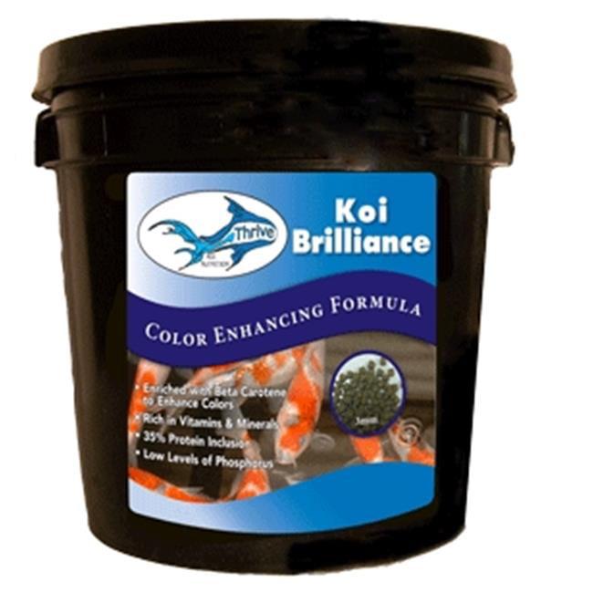 Anjon TKB5GAL Thrive Koi Brilliance All seasons Color Enhancing 5 Gallon Pail by Anjon Manufacturing