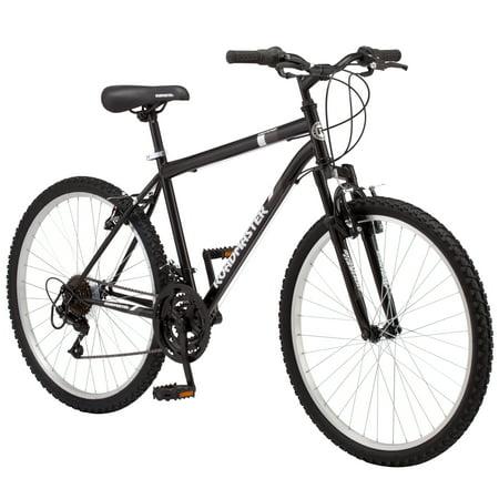 Roadmaster Granite Peak Men's Mountain Bike, 26-inch wheels, black All Terrain Mens Bike