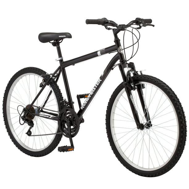 Roadmaster Granite Peak Men S Mountain Bike 26 Inch Wheels Black Walmart Com Walmart Com