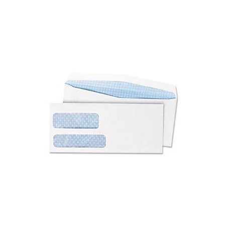 Double window security tinted envelope gummed flap 10 for 10 window envelope