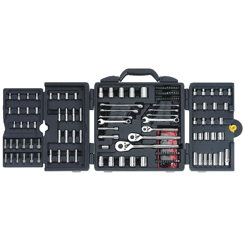 STANLEY 170-Piece Mechanics Tool Set, Chrome | 96-011