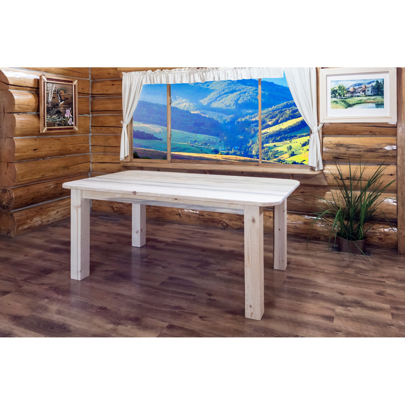 Montana Woodworks Homestead 4 Post Dining Table