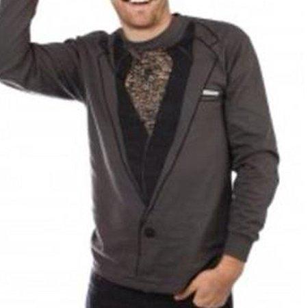 size 40 b32ed 31527 Hairy Man Guido Costume Long Sleeve Shirt (Large)