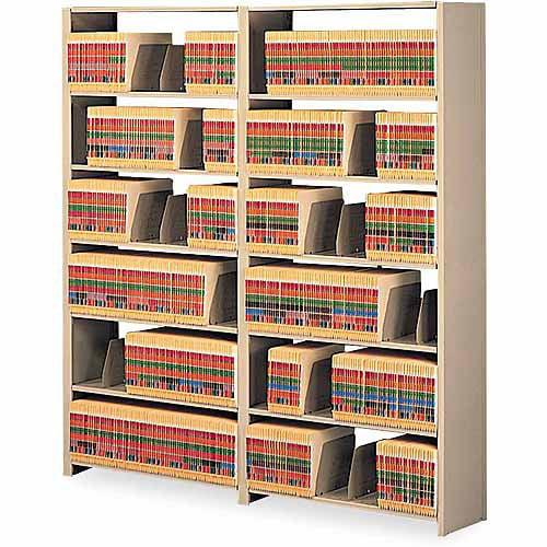 Tennsco Snap-Together 6-Shelf Closed Add-On Unit, Sand