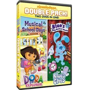 Dora The Explorer: Musical School Days   Blue's Clues: Blue's Big Musical Movie (Full Frame) by PARAMOUNT HOME VIDEO