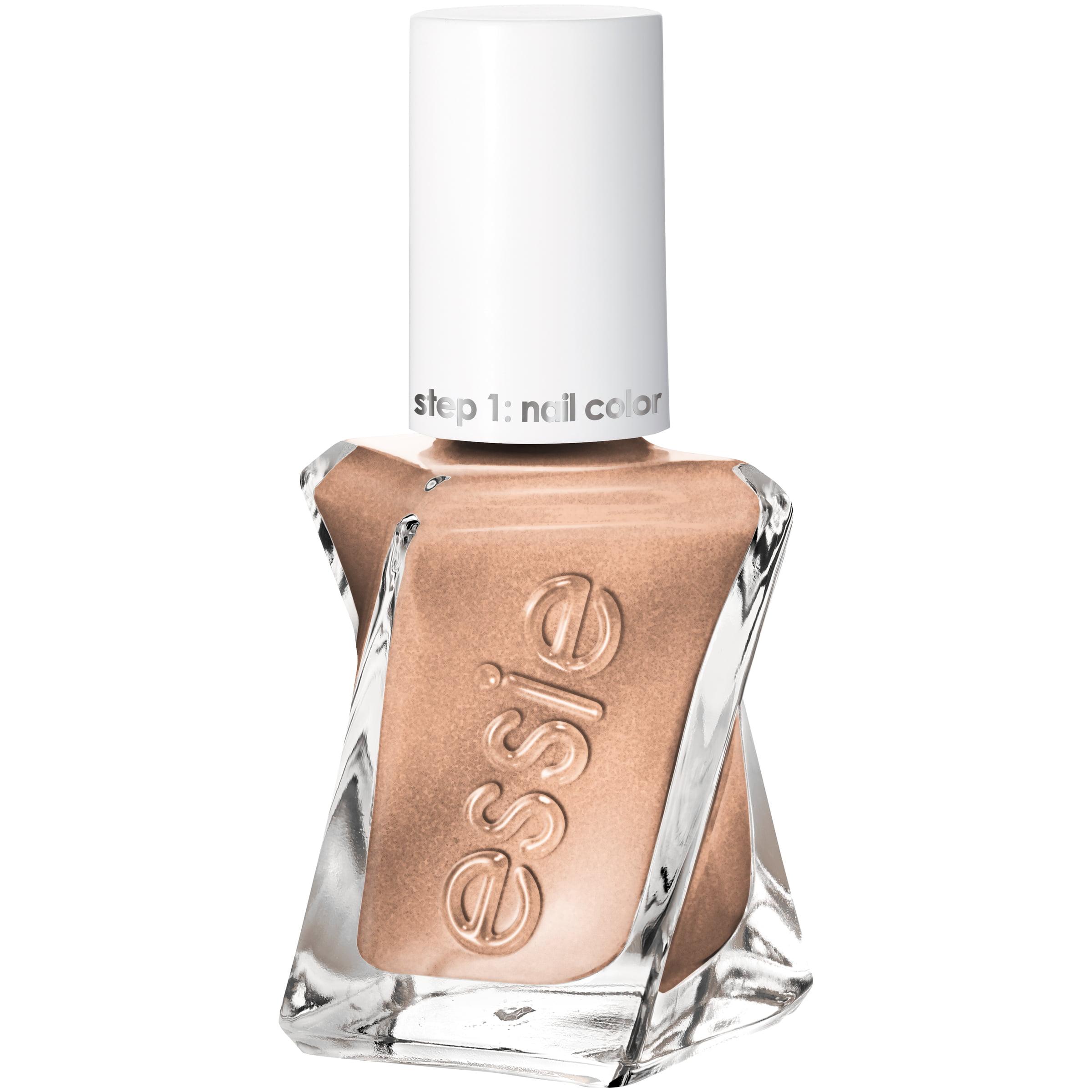 essie Gel Couture Nail Polish (Metallics), Daring Damsel, 0.46 fl oz