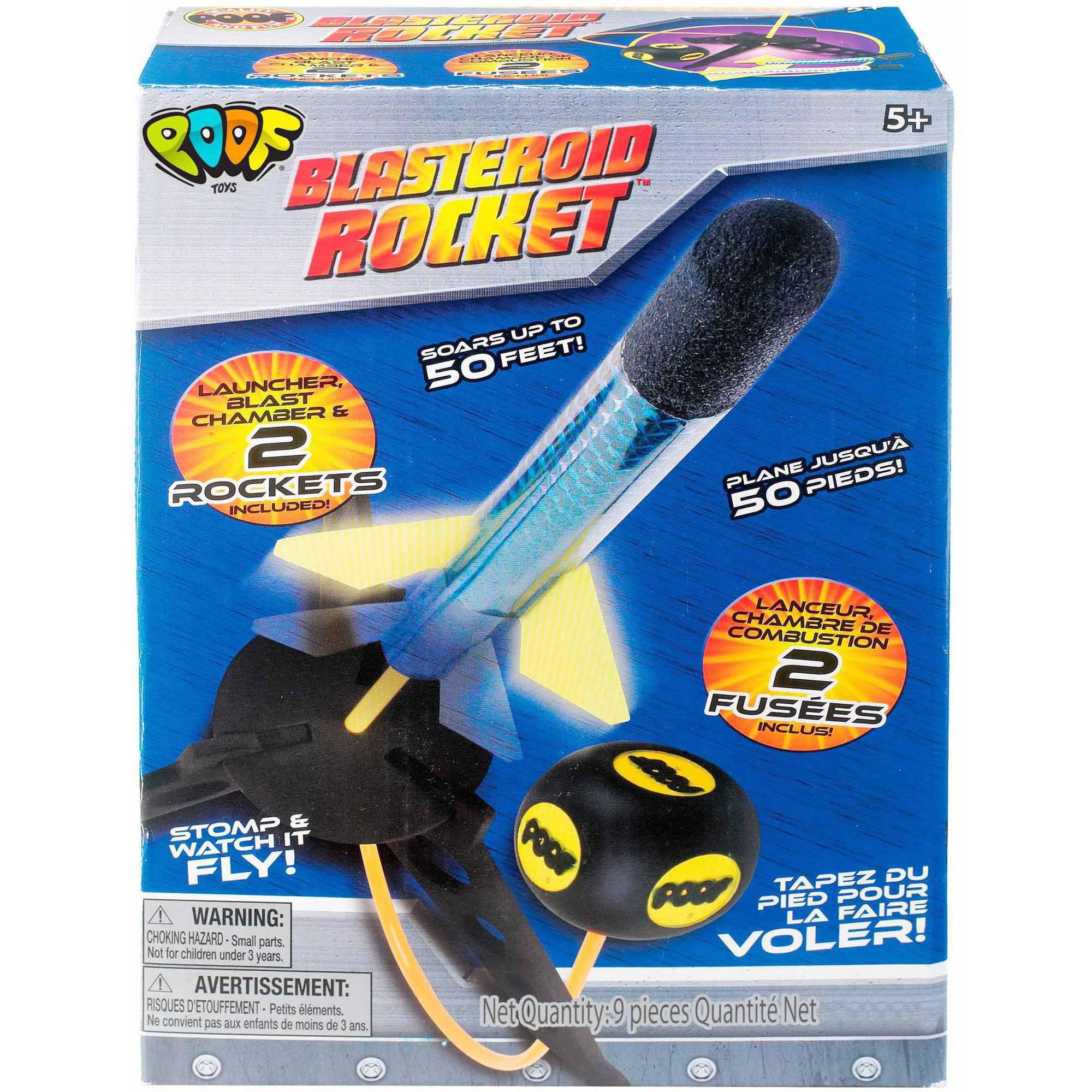 POOF Blasteroid Rocket