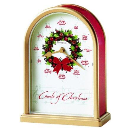 - Howard Miller Carols of Christmas II Tabletop Clock