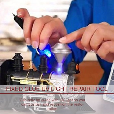 HC-TOP Fix Glue UV Light Repair Tool For Mobile Plastic Metal Stuff - image 3 de 12