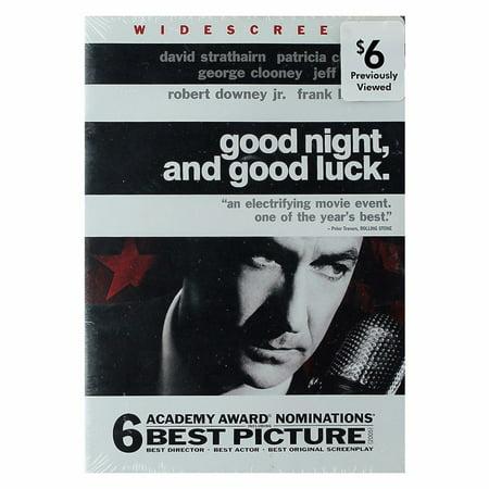 Good Night and Good Luck DVD (Refurbished) - image 1 de 1