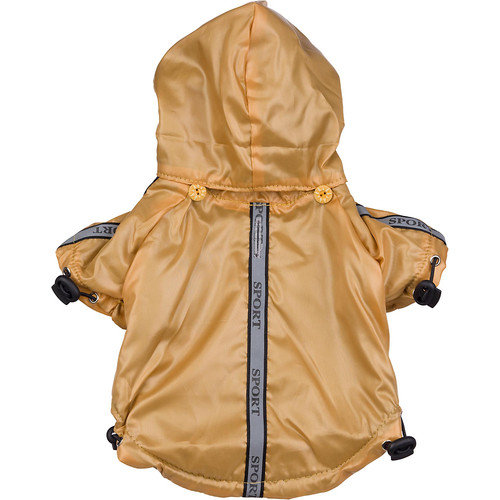 Pet Life Reflecta-Sport Rainbreaker with Removable Hood