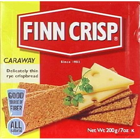 Crisp Box - Finn Crisp Crispbread, Caraway, 7 Ounce