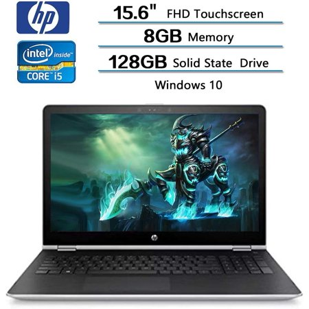 HP x360 2-in-1 Convertible Laptop 15.6 FHD Touchscreen, Intel Core i5-7200U, 8GB RAM, 128GB SSD, AMD Radeon 530 2GB Dedicated Graphics, Windows 10, Stylus Pen (Best Laptop With Dedicated Graphics)