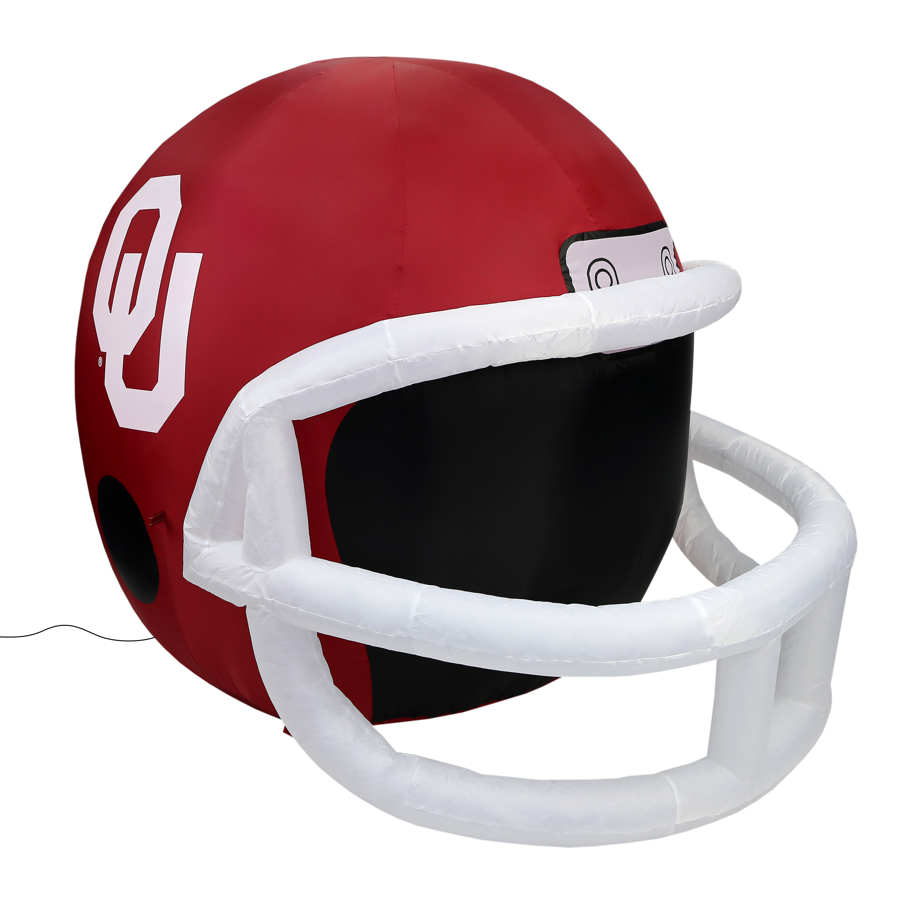 NCAA Oklahoma Sooners Team Inflatable Lawn Helmet, Red, One Size