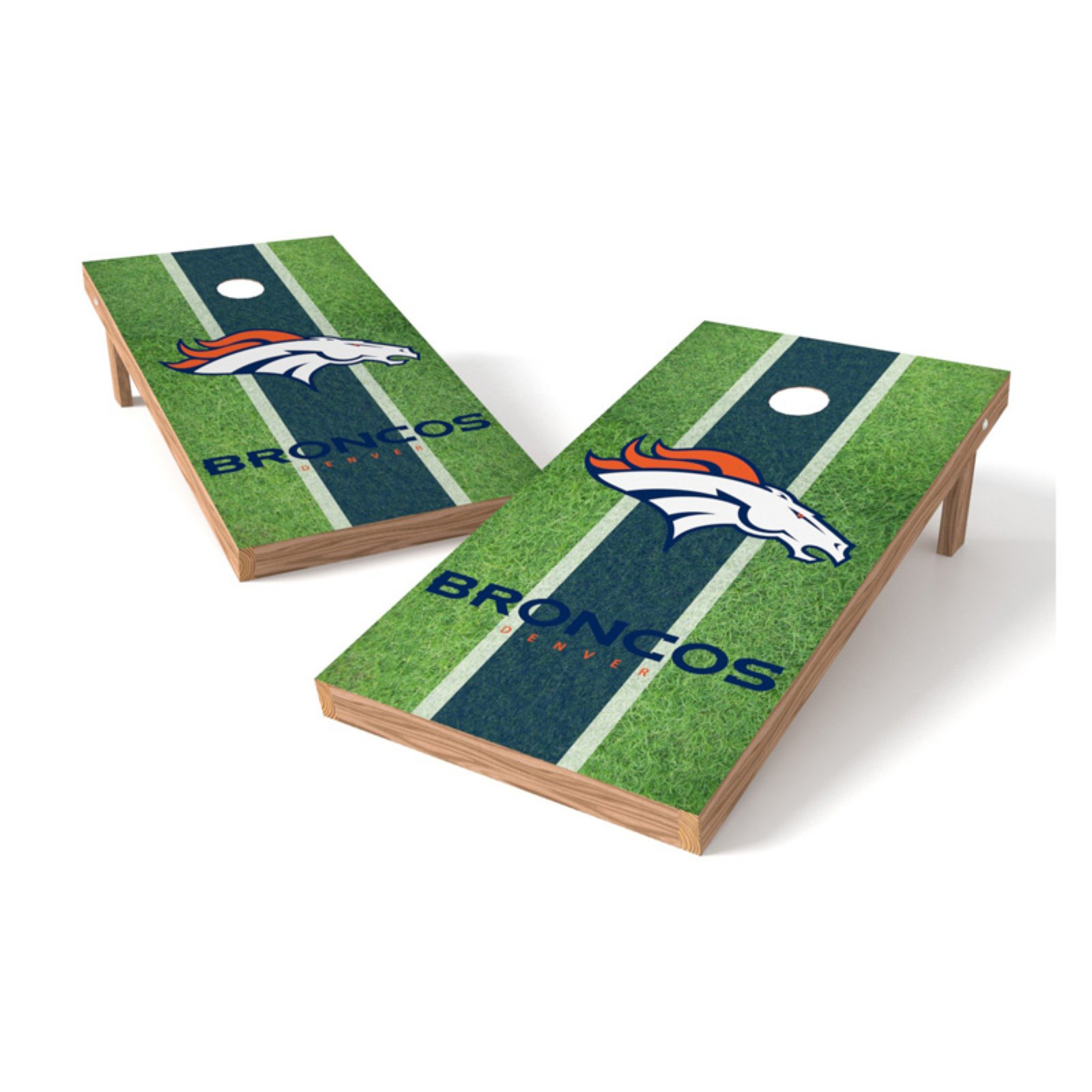 TTXL Shield Field NFL Denver Broncos Bean Bag Toss Game
