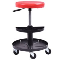 Zimtown Automotive Repair Rolling Seat Mechanics Work Tools Storage Roller Chair Tray