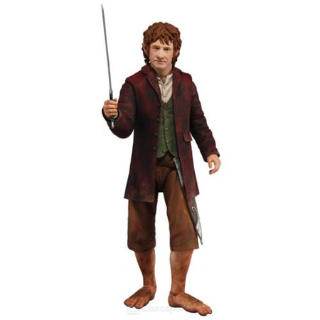 Neca NEC-46846-C The Hobbit An Unexpected Journey Bilbo Baggins 1:4 Scale 12