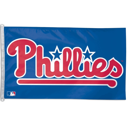 Philadelphia Phillies Official MLB 3ftx5ft Banner Flag by Wincraft
