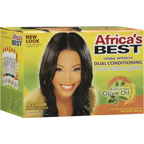 Africa's Best Herbal Intensive Dual Conditioning Regular/Normal Relaxer System