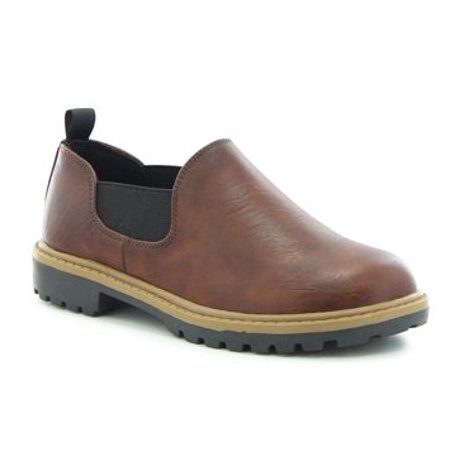 Western Chief Comrade Romeo Toddler Boys' Casual (Mahogany Casual Shoes)