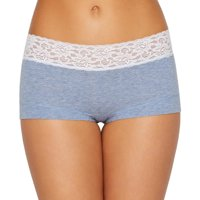 Maidenform Cotton Dream Boyshort With Lace , Size - 6