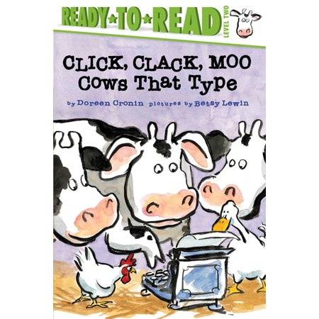 Click, Clack, Moo/Ready-to-Read : Cows That Type (Click Clack Track)