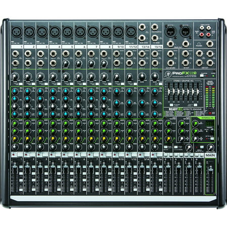 Mackie Digital Mixer (Mackie PROFX16V2 16-Channel 4-Bus Compact Mixer with USB and Effects )