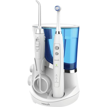 Waterpik Complete Care 5.5 Water Flosser and Oscillating Toothbrush, WP-811,