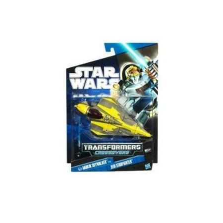 - Star Wars Transformers Crossovers - Anakin Skywalker to Jedi Starfighter