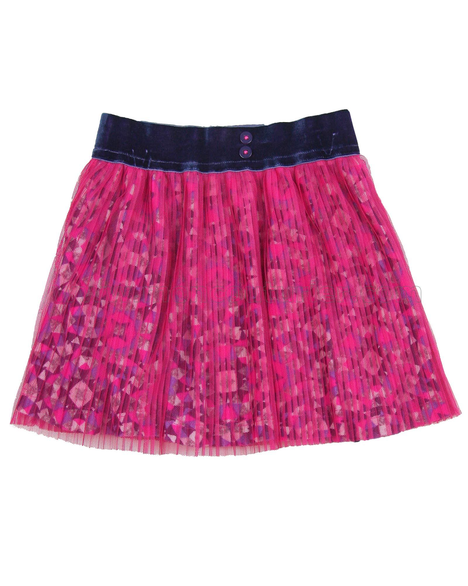 Sizes 18M-6 Deux par Deux Girls Skirt Feathery Friend