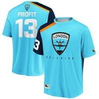 Profit London Spitfire Overwatch League Replica Home Jersey - Light Blue
