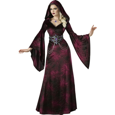 Dark Realm Sorceress Womens Adult Vampire Witch Halloween - Homemade Witch Halloween Costume Ideas