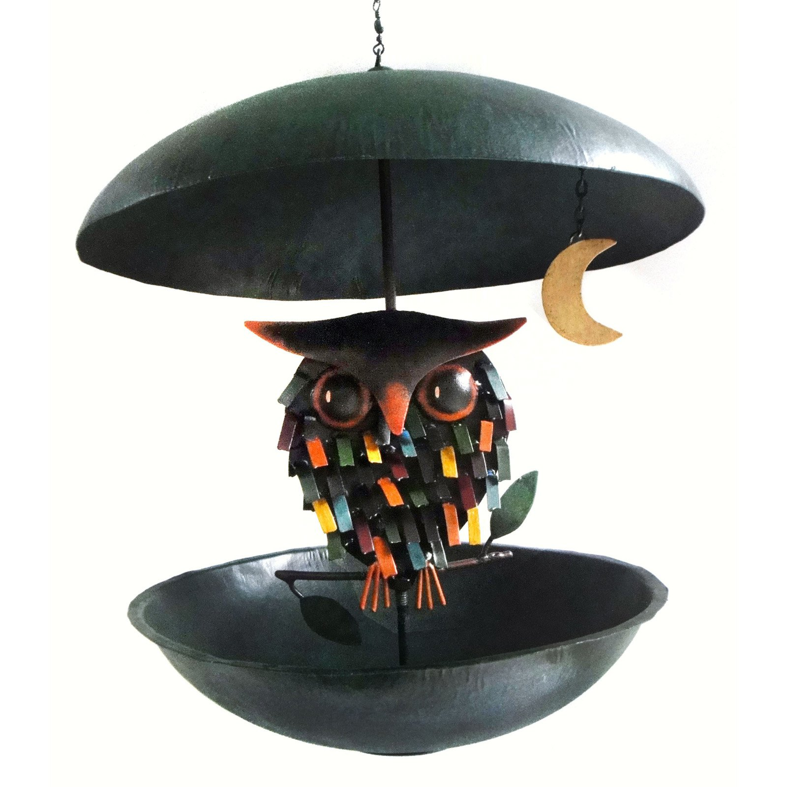 Gift Essentials Spiky Owl Bistro Bird Feeder