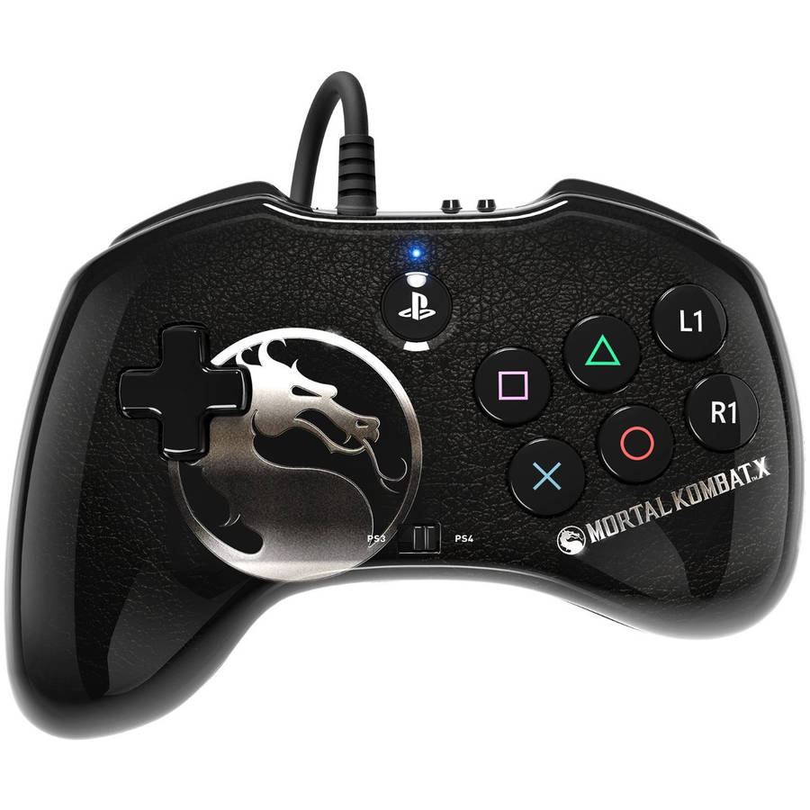 PDP Wired Fight Pad for PlayStation 4, Mortal Kombat X