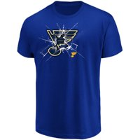 Men's Majestic Blue St. Louis Blues Poke Check T-Shirt