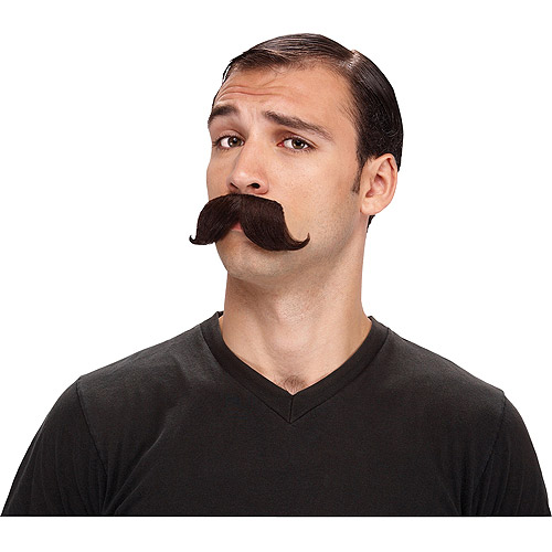 The English Adult Halloween Mustache Accessory