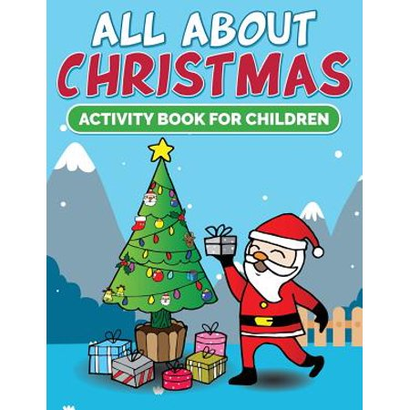All about Christmas Activity Book for Children - Christmas Magazines For Kids