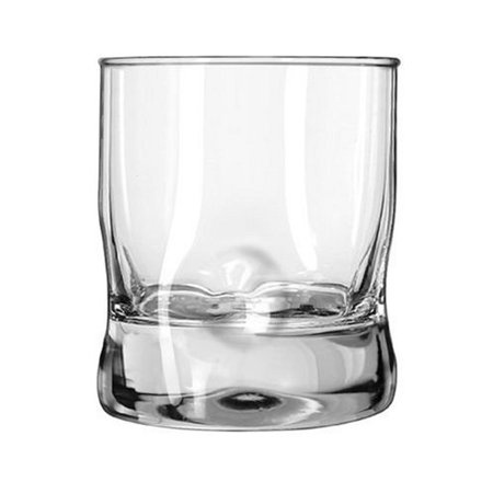 libbey crisa impressions 12-ounce double old fashioned glass, box of 12, clear