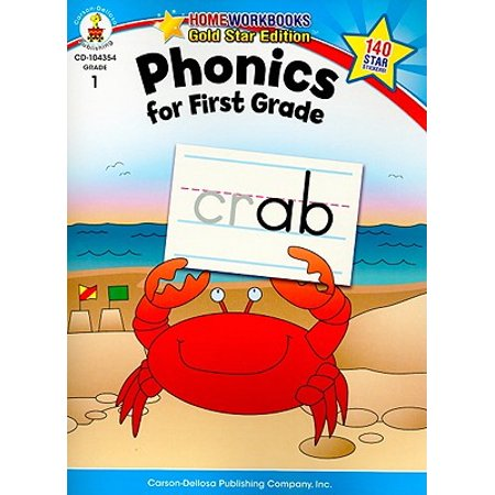Phonics for First Grade, Grade 1 : Gold Star Edition ()