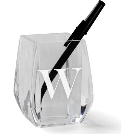 My Initial Personalized Acrylic Pen and Pencil Holder](Personalized Pens And Pencils)