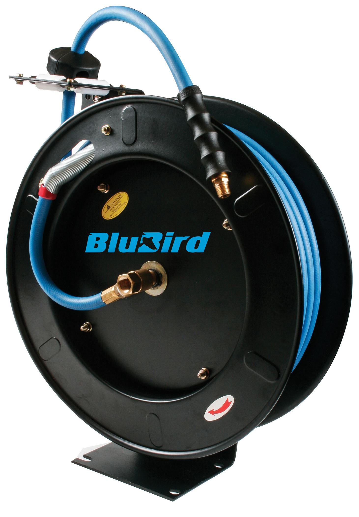Blubird Air Hose Reel 3 8in. X 50ft. by K Tool International