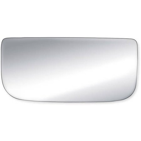 90250 - Fit System Passenger Side Mirror Glass, Avalanche 00-13, Chevrolet Silverado/ GMC Sierra 1500/ 2500/ 3500 99-18, Suburban 00-14, Tahoe 00-14, Yukon, Yukon XL 00-14, (tow mirror bottom lens)