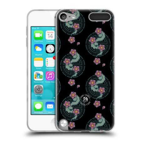 OFFICIAL ANNE STOKES MOTIF PATTERNS SOFT GEL CASE FOR APPLE IPOD TOUCH MP3 (Motif Trim)