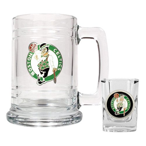 NBA - Boston Celtics Boilermaker Set